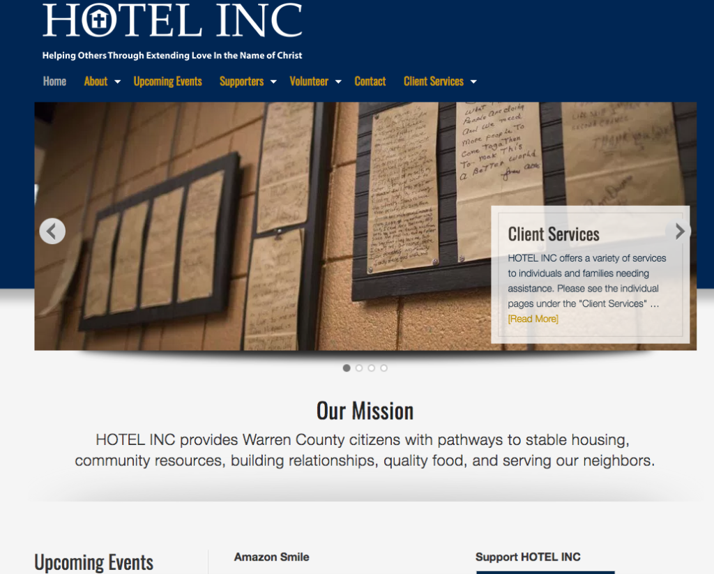 HOTEL INC. provides assistance for needy
