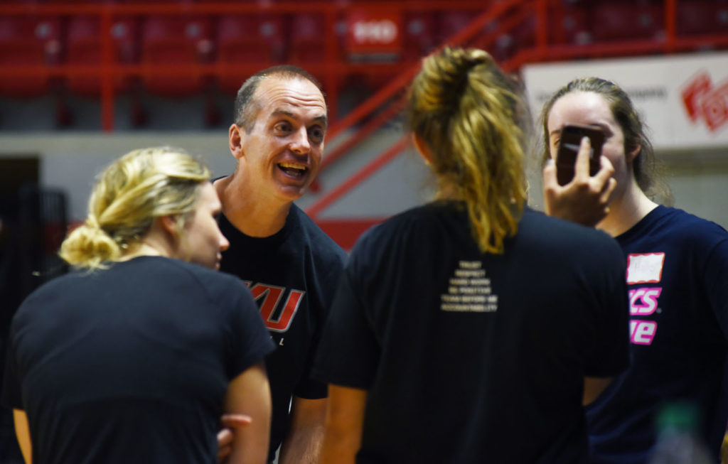 For Hudson, coaching is more than life on volleyball court