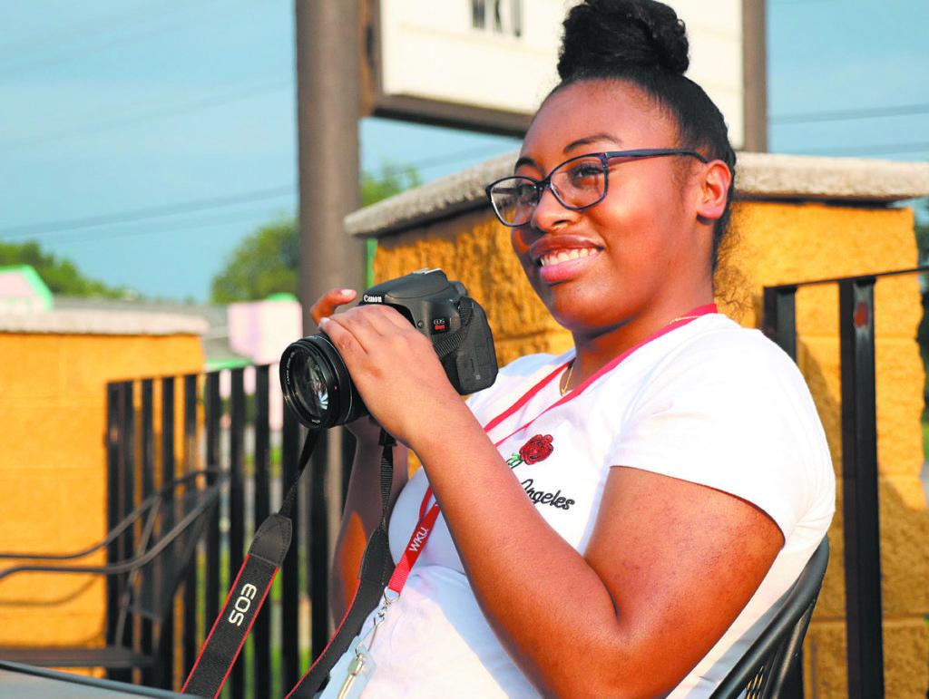 Photo of Tiana Wilson / Gallatin High School. Photo by Jaley Adkins / Belfry High School.