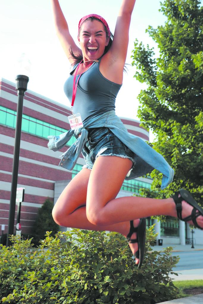 Photo of Sierra Earnhart / Greenwood High School. Photo by India Rice / Westlake High School.